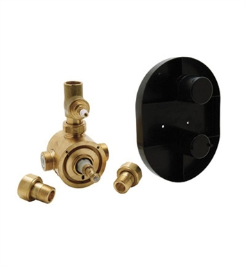 Rohl U-5555BO Perrin & Rowe® Concealed Thermostatic Rough Valve With Volume Control