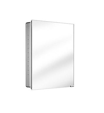 Keuco 25516001250 Royal K1 Mirror Cabinet with Silver Anodized Body Finish - No Lighting