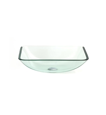 DreamLine DLBG-17 Glass Vessel Sink