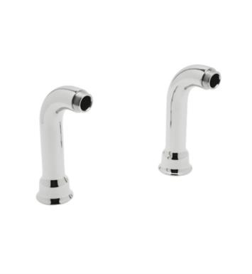 "Rohl AR00380 Cisal 2 1/4"" Set of 2 Deck Unions for Exposed Tub Filler"