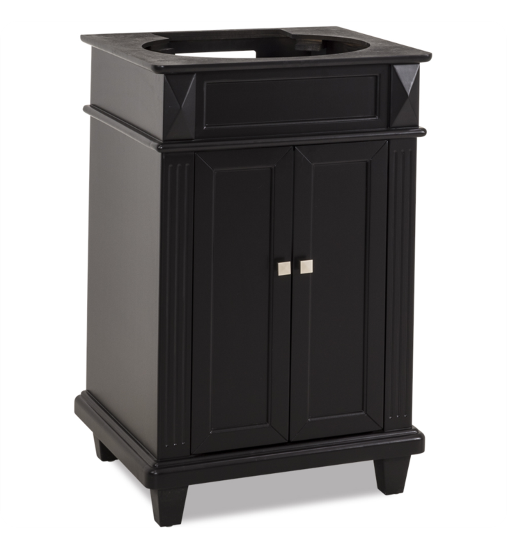 Hardware Resources VAN057-NT Traditional Bathroom Vanity by Bath Elements