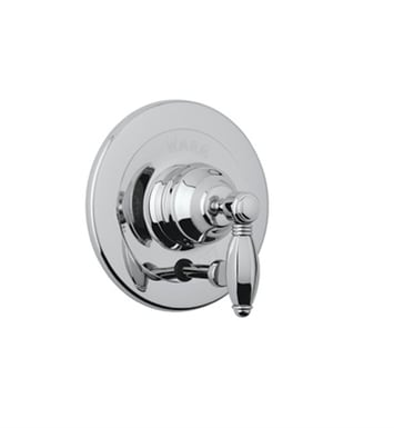 Rohl A2400LP-TCB Viaggio Pressure Balance Trim With Diverter With Finish: Tuscan Brass <strong>(SPECIAL ORDER, NON-RETURNABLE)</strong> And Handles: Porcelain Lever Handles