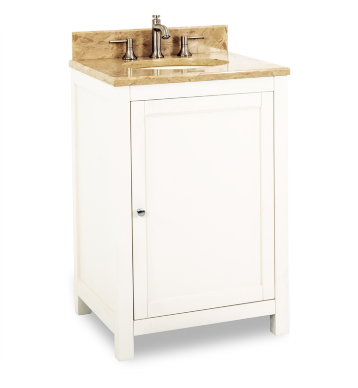Hardware Resources VAN091-24-T Traditional Bathroom Vanity by Bath Elements