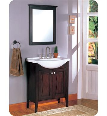 Fairmont designs 104 v30 bowtie 30 modern bathroom vanity - Bathroom vanity and mirror combo ...