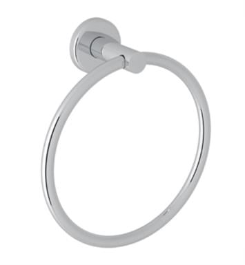 "Rohl LO4 7 3/8"" Wall Mount Towel Ring"