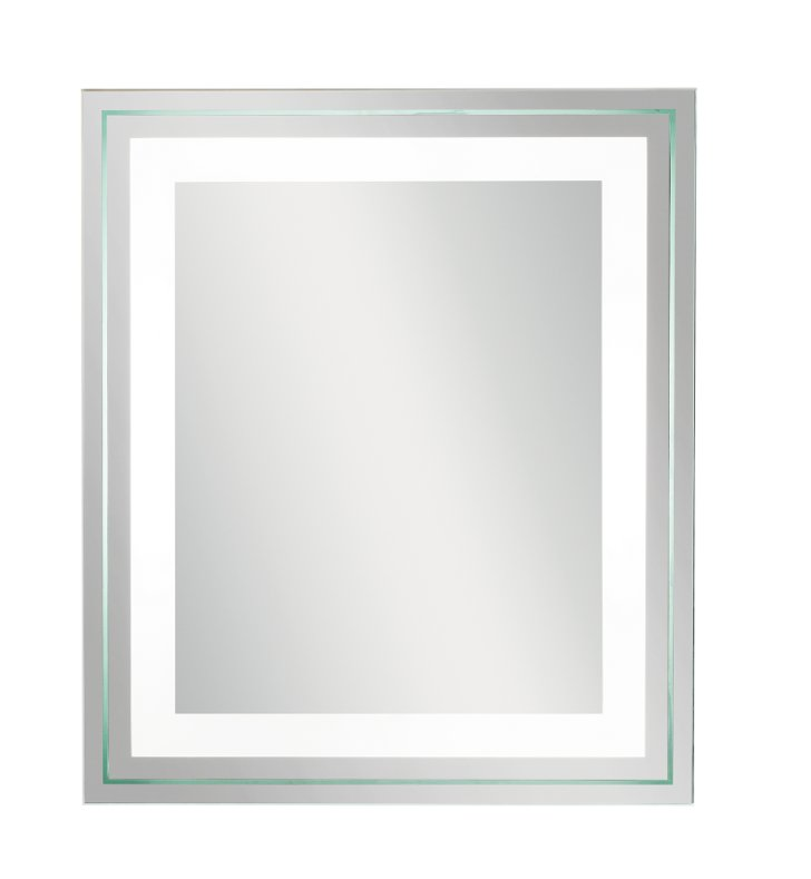 "Kichler 78201 33"" Modern Wall Mounted Lighted Mirror"