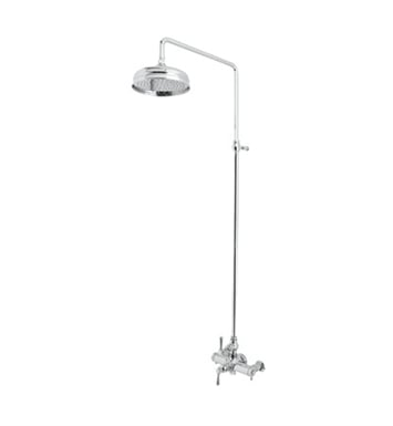 Rohl AKIT29172LM-STN Verona Exposed Thermostatic Shower Package With Finish: Satin Nickel And Handles: Verona Metal Lever Handles