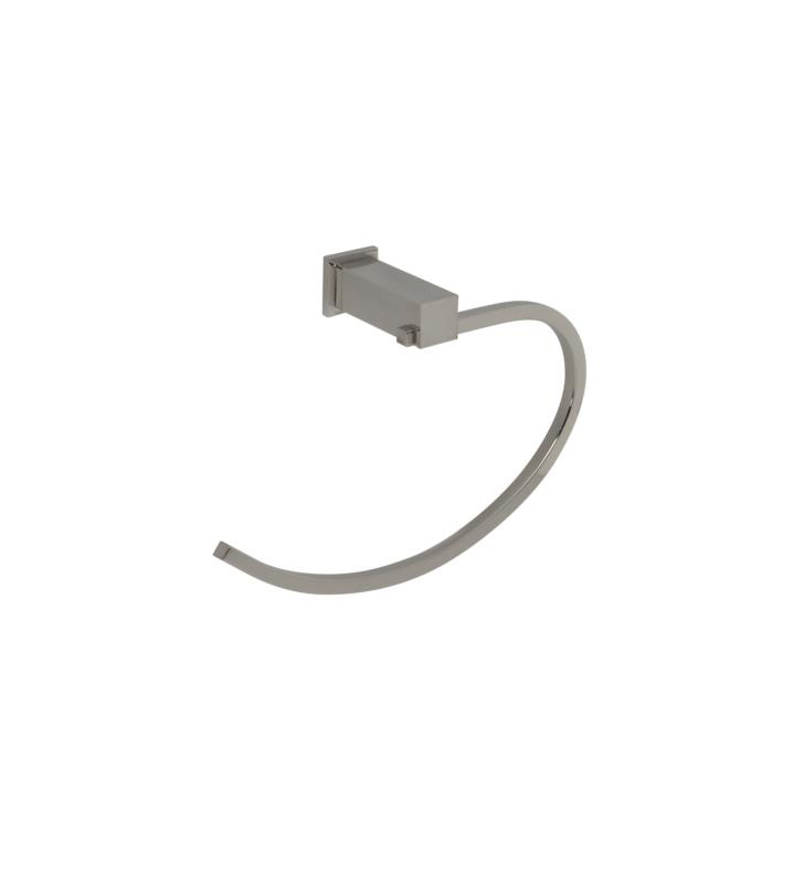 Santec 2864EM80 Towel Ring With Finish: Standard Pewter <strong>(USUALLY SHIPS IN 4-5 WEEKS)</strong>