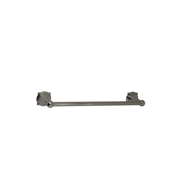 "Santec 4662BR70 Baroque 18"" Towel Bar With Finish: Polished Nickel <strong>(USUALLY SHIPS IN 2-3 WEEKS)</strong>"
