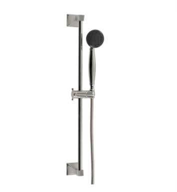 "Santec 92846014 #6 Personal Shower with #6 Slide Bar (Slide Bar 27 Inch Long, Hose 57"" Long, 3-Function Sprayer) Supply Elbow Not Included With Finish: Gunmetal Grey <strong>(USUALLY SHIPS IN 4-5 WEEKS)</strong>"