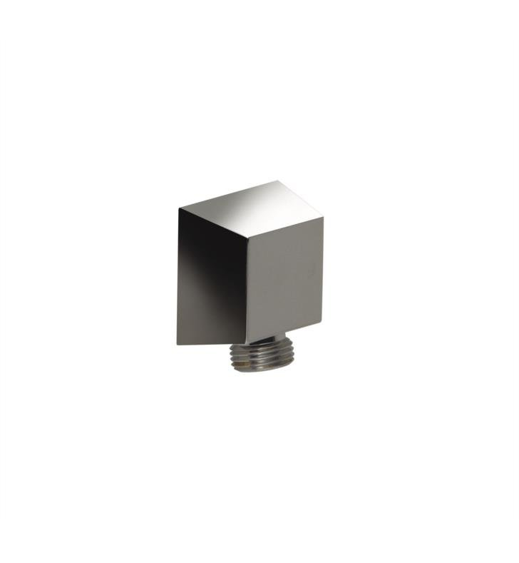 "Santec 9289ED20 Edo Supply Elbow - All Brass (1/2"" Female Inlet, 1/2"" Male Outlet, 1-13/18"" Square) With Finish: Orobrass <strong>(USUALLY SHIPS IN 4-5 WEEKS)</strong>"