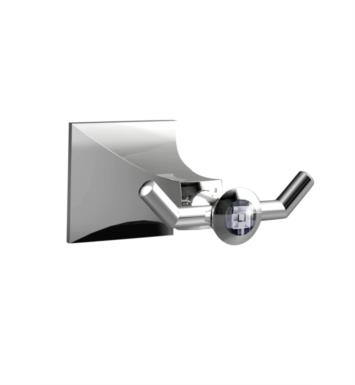 Santec 9266DC45 Edo Crystal Robe Hook With Finish: Satin Rose Gold <strong>(USUALLY SHIPS IN 4-5 WEEKS)</strong>