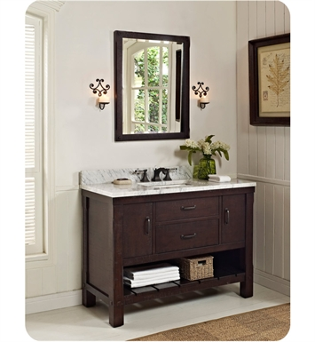 Fairmont Designs VH Napa Open Shelf Modern Bathroom Vanity - Bathroom vanities with shelves