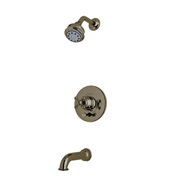 Rohl ACKIT21L-TCB Cisal Arcana Shower Package With Ornate Metal Lever Handle in Tuscan Brass