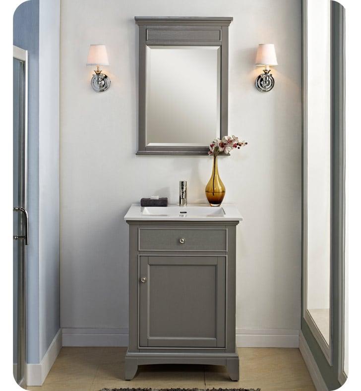 Fairmont Designs V Smithfield Modern Bathroom Vanity In - 24 contemporary bathroom vanity