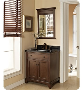 "Fairmont Designs 1503-V30 Smithfield 30"" Modern Bathroom Vanity in Mink"