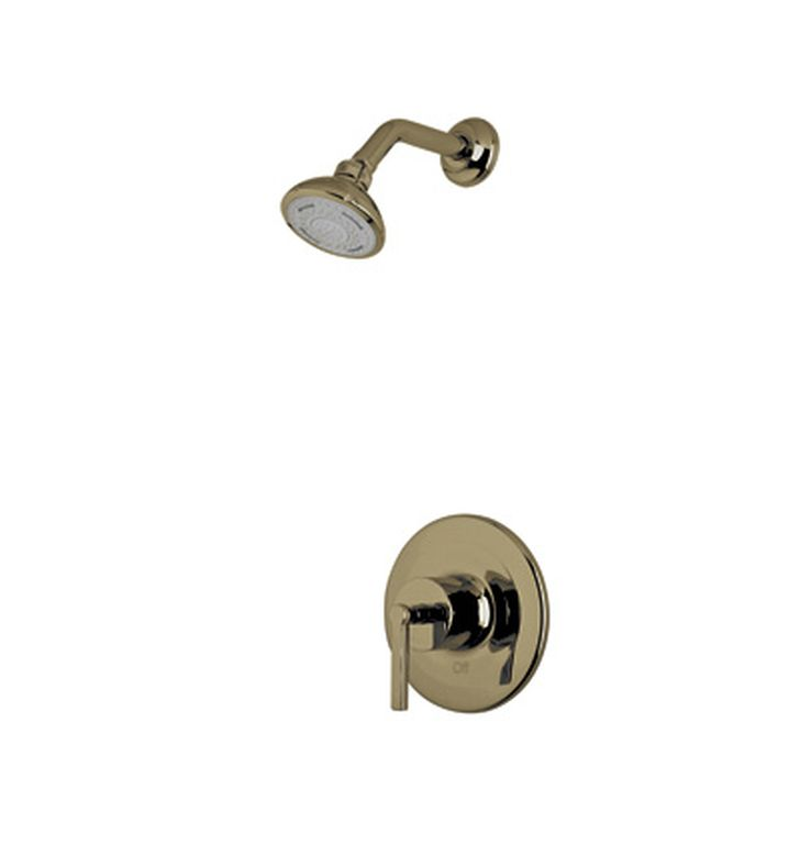 Rohl LOKIT20LM-TCB Avanti Shower Package With Metal Lever Handle in Tuscan Brass