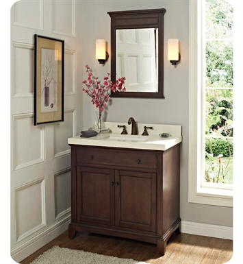 "Fairmont Designs 1503-V36 Smithfield 36"" Modern Bathroom Vanity in Mink"