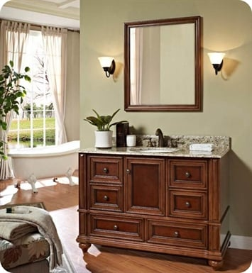 "Fairmont Designs 149-V48 Stratford 49"" Traditional Bathroom Vanity"