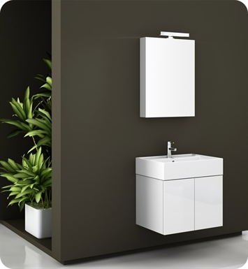 Nameeks SM01-W Iotti Modern Bathroom Vanity Set from Smile Collection With Finish: Wenge