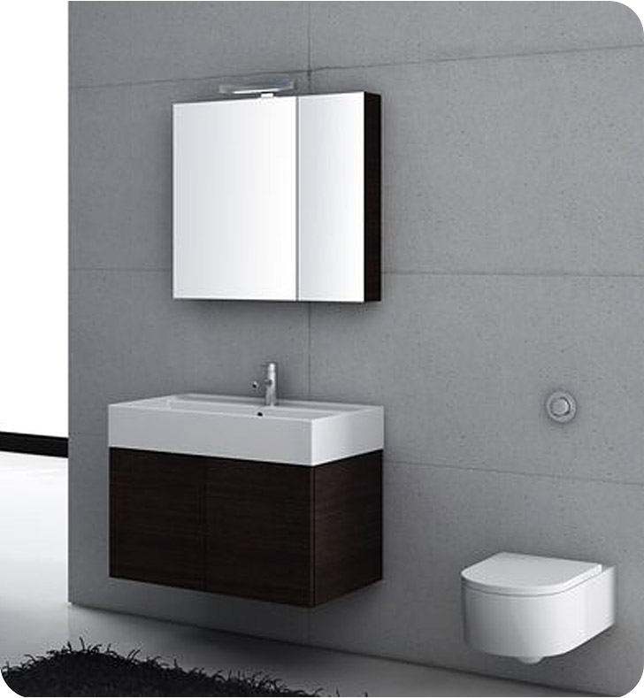 Nameeks SM06 Iotti Modern Bathroom Vanity Set from Smile Collection