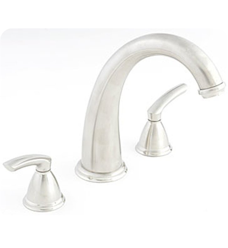 Santec 4150BL Estate Britani Roman Tub Filler Set with BL Style Handles
