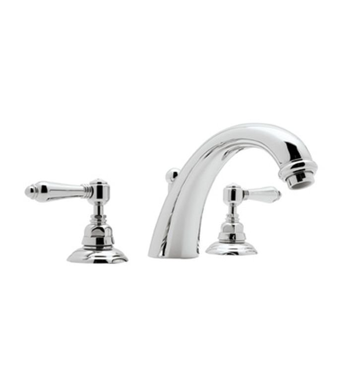 Rohl A2154 San Julio 3-Hole Deck Mount C-Spout Tub Filler