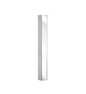 "Keuco 11692012550 Elegance Wall Light in White With Dimensions: Size: W  2 3/4"" x H 37 1/2"" x D 2 3/8"""