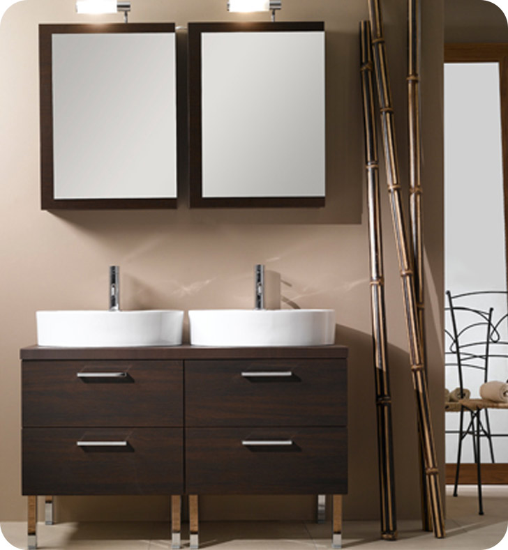 Nameeks A19 Iotti Modern Bathroom Vanity Set from Aurora Collection
