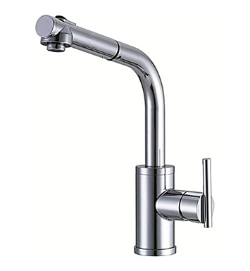 Danze D404558 Parma™ Single Handle Pull-Out Kitchen Faucet in Chrome