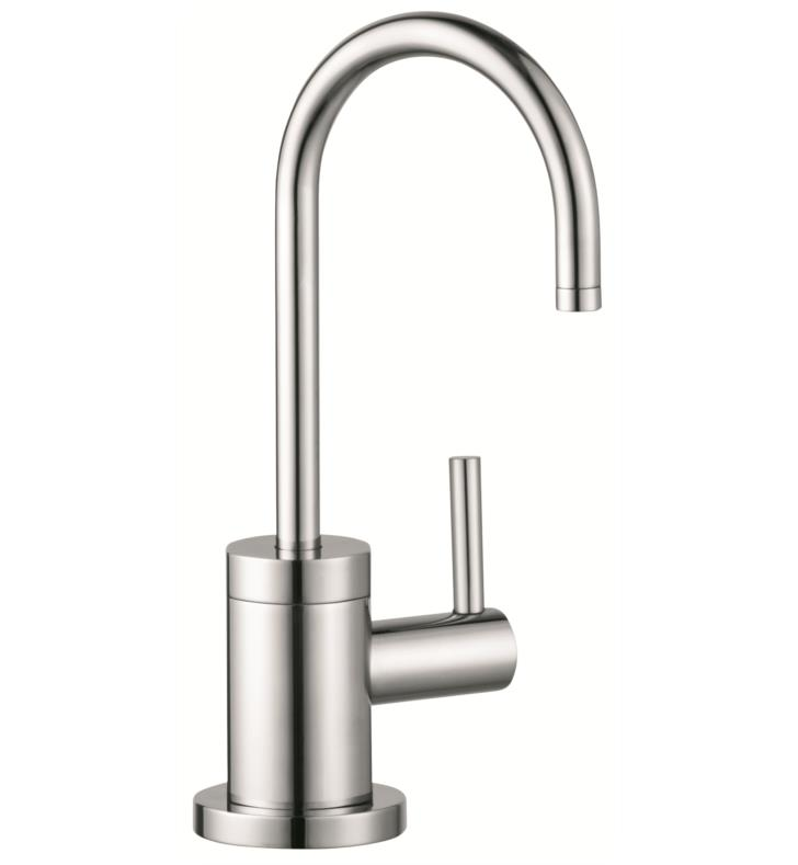 "Hansgrohe 04301 Talis S 4"" Single Handle Deck Mounted Laminar Spray High-Arc Universal Beverage Faucet"