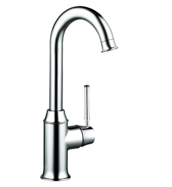 "Hansgrohe 04217 Talis C 5 1/2"" Single Handle Deck Mounted Aerated Spray High-Arc Bar Kitchen Faucet"
