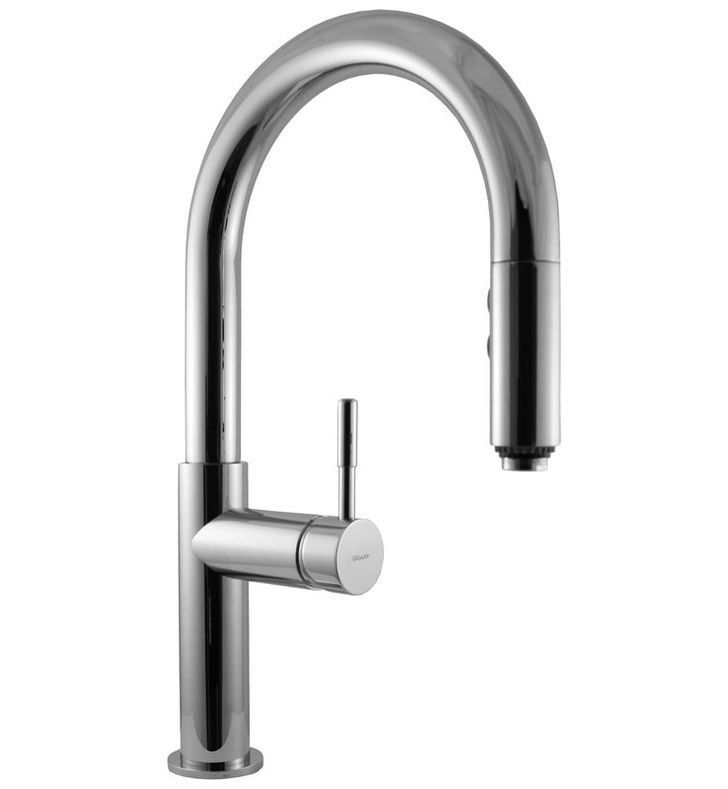 Graff G-4610-LM3-PC Perfeque Pull Down Kitchen Faucet With Finish: Polished Chrome
