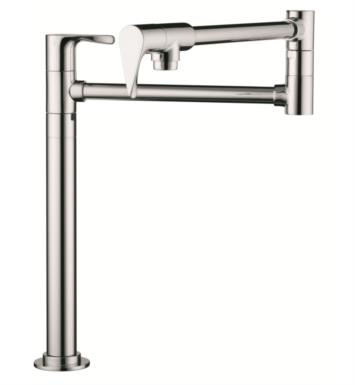 "Hansgrohe 39838 Axor Citterio 23 1/2"" Double Handle Deck Mounted Pot Filler with Aerated Spray"