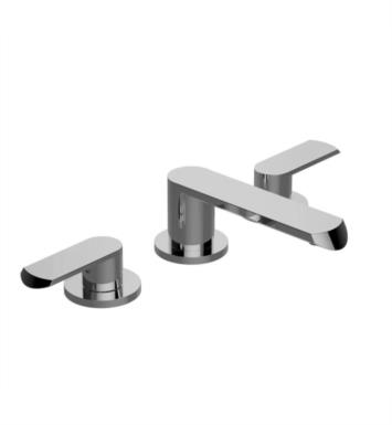 "Graff G-6610-LM45B-PN Phase 5 3/8"" Double Handle Widespread Bathroom Sink Faucet With Finish: Polished Nickel"