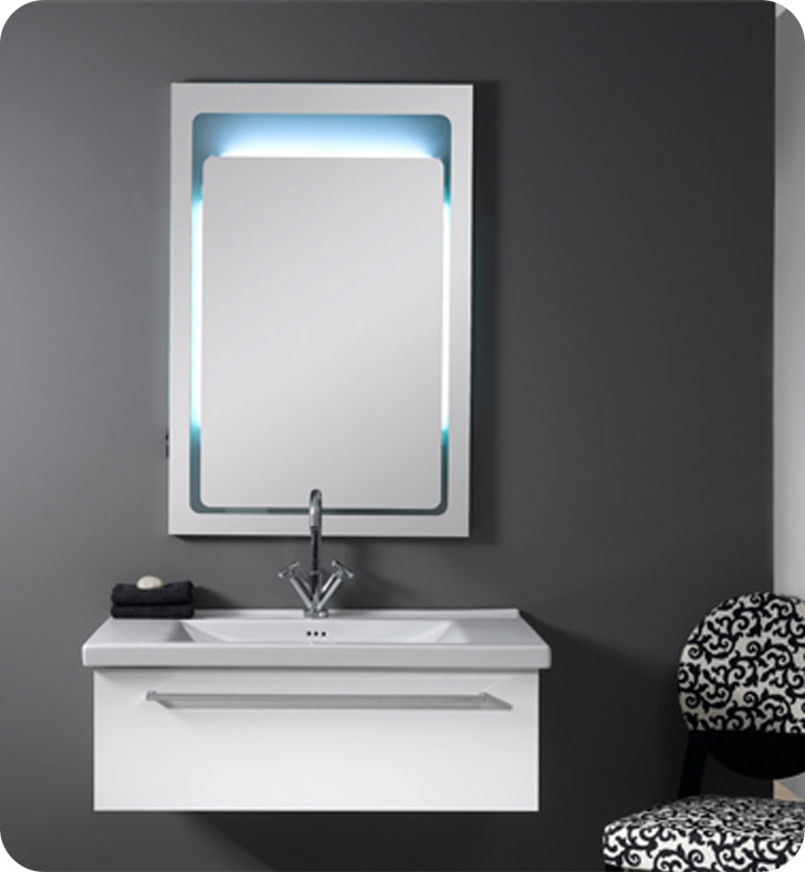 Nameeks FL3 Iotti Modern Bathroom Vanity Set from Fly Collection