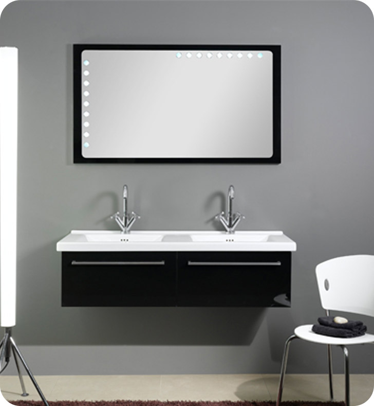 Nameeks FL5 Iotti Modern Bathroom Vanity Set from Fly Collection