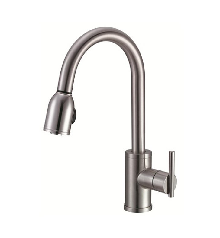 Danze D457058SS Parma™ Single Handle Pull-Down Kitchen Faucet in Stainless Steel
