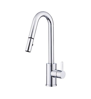 Danze D457030 Amalfi™ Single Handle Pull-Down Kitchen Faucet in Chrome