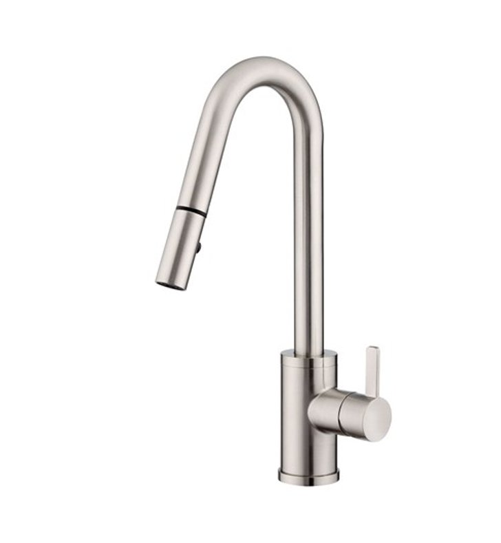 Danze D457030SS Amalfi™ Single Handle Pull-Down Kitchen Faucet in Stainless Steel