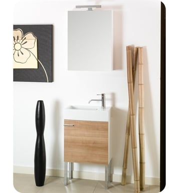 Nameeks LA2-GW Iotti Modern Bathroom Vanity Set from Lola Collection With Finish: Glossy White