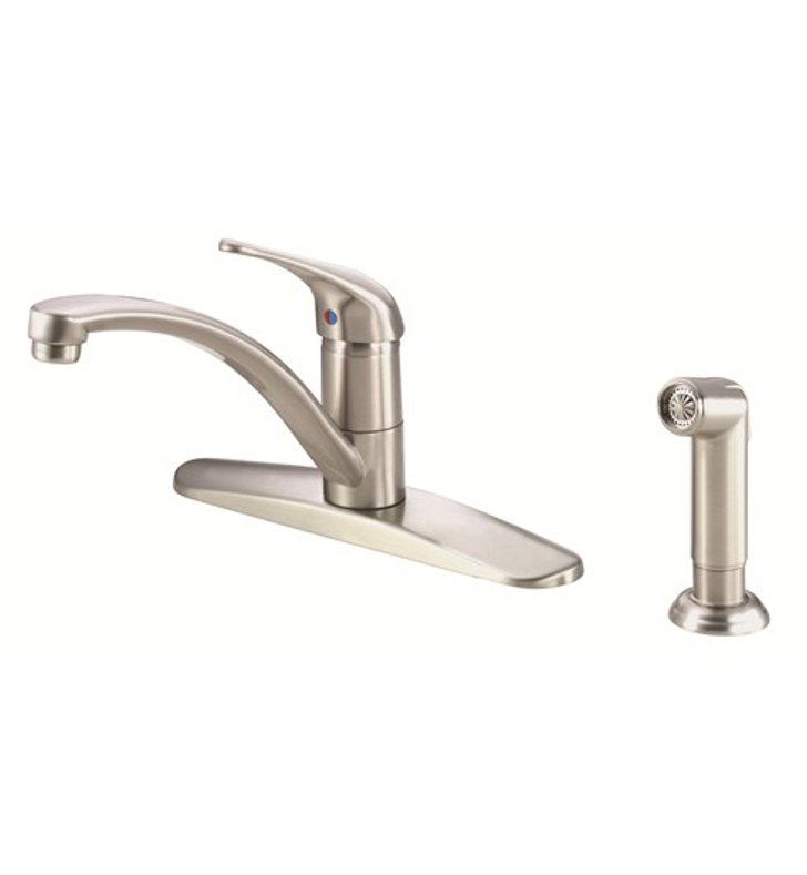 Danze D407112SS Melrose™ Single Handle Kitchen Faucet with Spray in Stainless Steel
