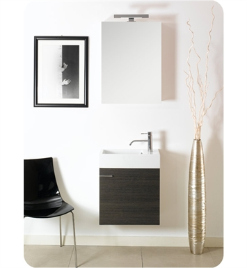 Nameeks LA3-NO Iotti Modern Bathroom Vanity Set from Lola Collection With Finish: Natural Oak