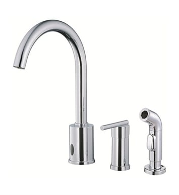 Danze D423058 Parma™ Dual Function Kitchen Faucet with Spray in Chrome