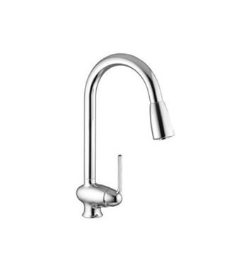 Nameeks S7019 Deck Mounted High Arc Single Handle Kitchen Faucet