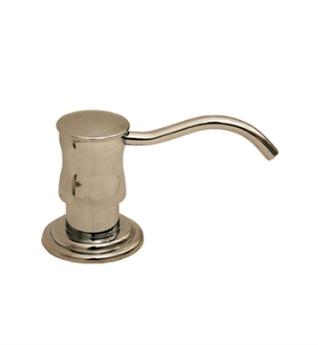 Whitehaus WHSD45N-AB Solid Brass Soap/Lotion Dispenser With Finish: Antique Brass