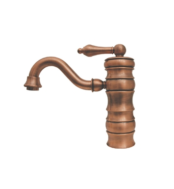 Whitehaus WHVEG3-1095-MB Vintage III Single Handle Bar Faucet With Finish: Mahogany Bronze