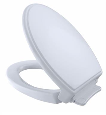 "TOTO SS154#12 SoftClose 14"" Elongated Traditional Toilet Seat With Finish: Sedona Beige"