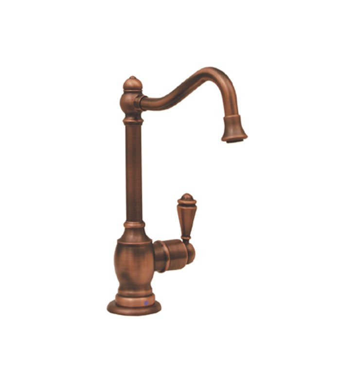 Whitehaus WHFH-C3132-BN Point of use drinking water faucet with traditional spout With Finish: Brushed Nickel