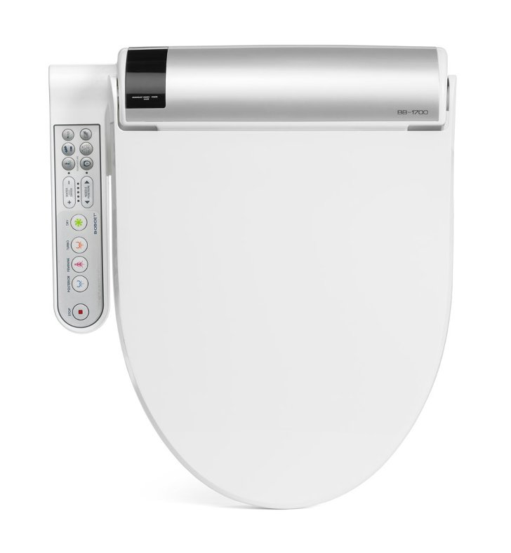 BioBidet BB-1700 Biobidet Premier Class Bliss Bidet Toilet Seat with Side Panel Control